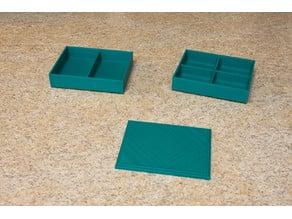 Stackable Parts Bin (Parametric)
