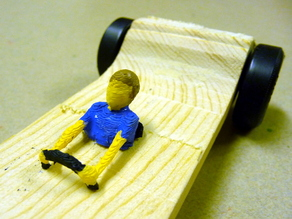 Pinewood Derby Driver Collection