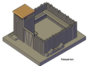 Palisade fort