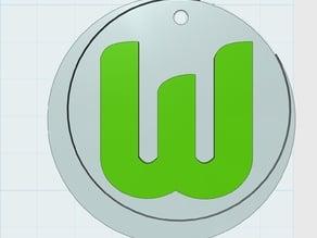 VfL Wolfsburg Keychain or Pendant