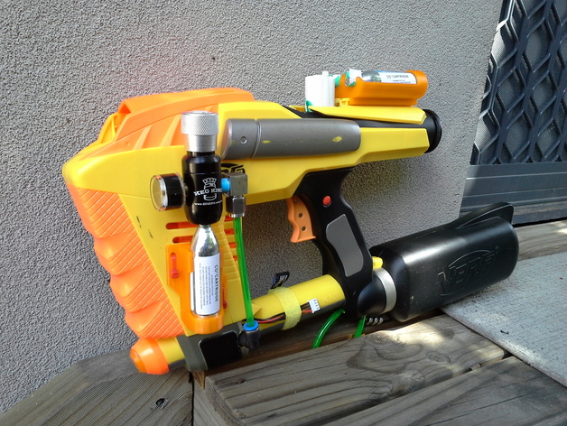 Introduction: Nerf Retaliator Mod: Air Restrictor Removal and Barrel  Extension