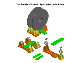 DB's DeskTop Filament Spool Adjustable Holder