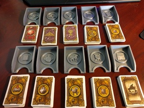 Talisman Card Trays - City Expansion, Warlock Quests, Purchase decks