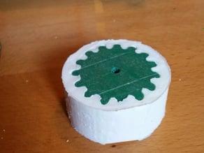 Robot wheel mold