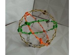 Hoberman sphere ( Cuboctahedron )