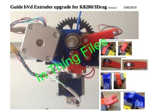 bVd Extruder version 2 ( E3D hotend 1,75 or 3 mm)