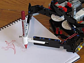 Pen holder for EV3 Drawing robot