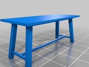 Scale Field Workshop Table