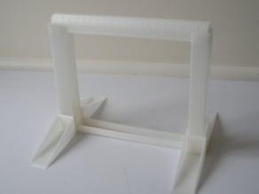 Parametric tabletop spool holder