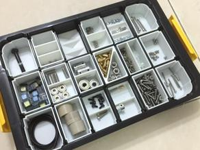 Small parts bins for KT2638B