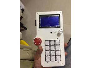 12864 LCD Teaching Box with EMO and 3x4 Keyboard