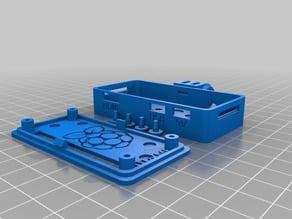 Raspberry Pi Zero case w. flexmounts