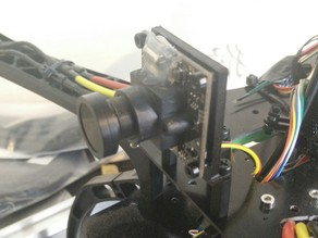 x520 fpv camera mount sony effio 700tvl 1/3 2 1mm