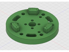 FTC VEX mecanum wheel to Tetrix adapter