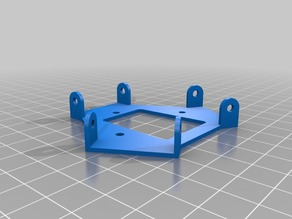 MP Mini Delta 3D Printer Stock Effector Plate