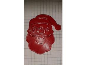 Christmas Ornament Santa and Rudolph