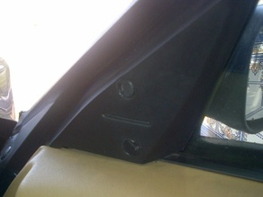 MG TF - MIRROR BOLTS COVERS