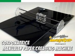 cordonatrice - manually paper creasing machine