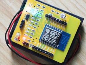 wifi throwies - case for esp8266 yellow dev board