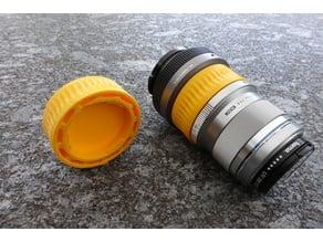 MFT double rear lens cap