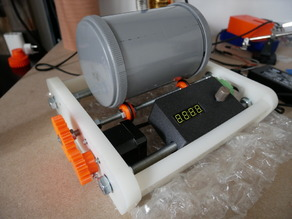 Affordable Rock Tumbler - NEMA17 Version for CNC routing