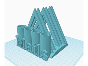 Mails / Letter and Pencil Holder