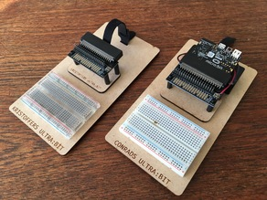 Micro:bit breadboard plate