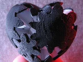 Crusty Micro Gear Heart