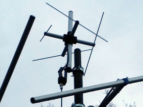 70 cm Lindenblad Antenna