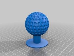 Shift knob Golfball