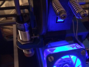 Prusa i3 Rework Inductive Proximity Sensor Holder 18mmØ