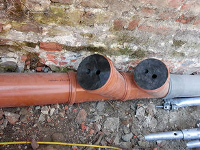 Internal cap / cover for tubes or soil pipes