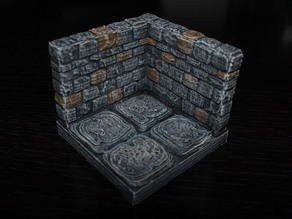 OpenForge Stone Dungeon Edge Corner