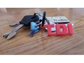 TDI Keychain