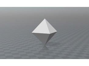 Octahedron Cubic crystal