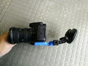 GOPRO suction cup to DSLR adapter