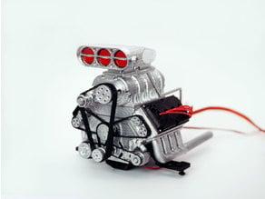 DDW 1/8 RC DOHC V8 Engine