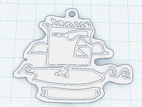 RoboBrrd surfing token3D