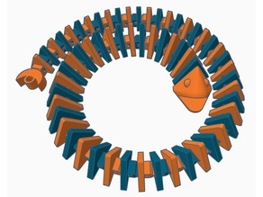 Long Spiral Flexi-Fish (Dual-Extrusion)