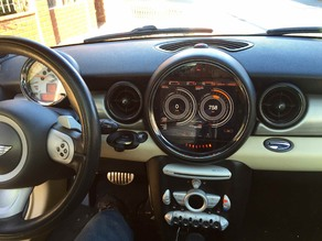 iPad Mini integration for Mini Cooper vehicles