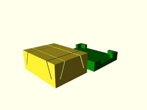 Seal cutter for rectangular pneumatic cylinder seals