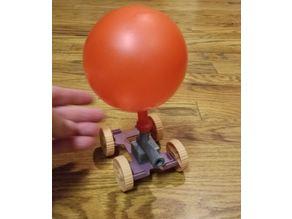 Balloon power car