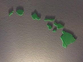 Hawaiian Islands Wall Art