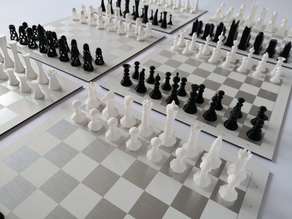 Chess sets - 6 different styles!