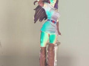 Anime girl scan