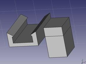 Prusa Steel Y axis endstop