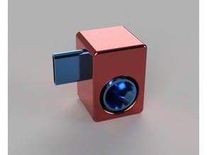 Google Pixel with Speck case speaker amplifier