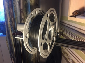 Threat spool for large filament skeins with a diameter of 215mm.