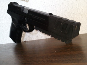 Compensator with Picatinny Rail for S&W Sigma 40F