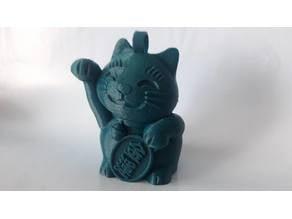 Maneki Neko Cat Keychain ( MP Select Mini Cat )